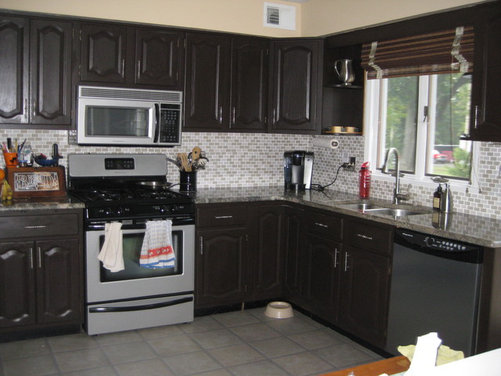 Need help with cabinet and wall color in the kitchen - Houzz