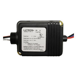 """Lutron - PP-SH Lutron Power Pack for 0-10V Dimmers - Lutron Power switch packs provide both the 24 V power supply to operate Lutron sensors as well as the line voltage relay to control the load in one compact housing. The unit can be placed outside or inside the junction box with a simple twist-on nut. This auxiliary (slave) relay model must be used with a Lutron PP-XXXH Power Pack.  High-impact UL94 5 VA flammability-rated plastic case construction. Relay: Class B (130°C) insulating material; silver alloy contacts. 120 V, 277 V, or 347 V transformer: 60 Hz; 230 V transformer: 50 Hz. 24 V nominal output; 100 mA nominal, full wave rectified and filtered. 7"""" wire leads, 18 AWG input; 7"""" leads, 16 AWG contacts. Relay contact ratings: 5 Amps for LED loads. Lutron's early documentation on this product incorrectly stated a higher current. Complies with requirements for use in a compartment handling conditioned air (plenum). Supports up to 3 devices, including occupant sensors and PP-SH units. Operating environment: 32°F to 104°F (0°C to 40°C); less than 90% relative humidity, non-condensing. For indoor use only."""