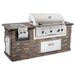 contemporary grills by BBQ Island Inc.