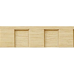 """Inviting Home - Woodward Dentil Molding - panel wood molding 3/4""""H x 1/4""""P x 8'00""""L sold in 8 foot length 4 piece minimum order required Wood panel molding specifications: Outstanding quality molding profile carved from high grade kiln dried solid European beech wood. High relief decorative design is machine carved. Wood molding is sold unfinished and can be easily stained painted or glazed. The installation of the wood molding should be treated the same manner as you would treat any wood molding: all molding should be kept in a clean and dry environment away from excessive moisture. acclimate wooden moldings for 5-7 days. when installing wood moldings it is recommended to nail molding securely to studs; pre-drill when necessary and glue all mitered corners for maximum support."""