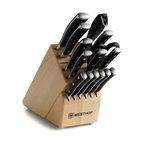 Wusthof - Wusthof Classic Ikon - 16 Pc. Knife Block Set - Includes: