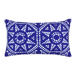 "DD - Mosiac Outdoor Pillow 24"" x 14"" - This lovely Mosiac Outdoor Pillow will add fun and flare to your outdoor space."