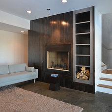 Modern Basement by VPC Builders, LLC