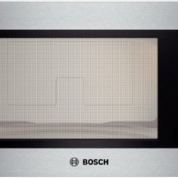 Bosch - HMB5051 500 Series Built-In Microwave Oven with 2.1 cu. ft. Capacity  Recessed G - Built-In microwave design matched for use in combination with Bosch wall oven With 1200 watts of microwave power and 10 power levels this large microwave is capable of heating all kinds of different dishes From leftovers to frozen dinners this unit c...