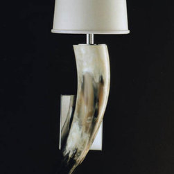 Italian Horn Wall Sconce - These amazing sconces would add a special touch just about anywhere. For a smaller room, we'd hang them on either side of the bed for a stylish answer to reading lights.