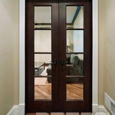 eclectic interior doors by Doors For Builders Inc