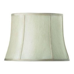 Home Decorators Collection - Home Decorators Collection Tapered Small 14 in. Diameter Ivory Silk Blend Shade - Shop for Lighting & Fans at The Home Depot. Bring the calm style and gentle shape of our Tapered Drum Linen Lamp Shade into your home for a lasting look. The flowing lines and ribbed shape will add that touch of elegance you've been looking for. Order yours today.