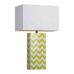 Dimond Lighting - Dimond Lighting HGTV278 HGTV Home Citrus Green Table Lamp - Dimond Lighting HGTV278 HGTV Home Citrus Green Table Lamp