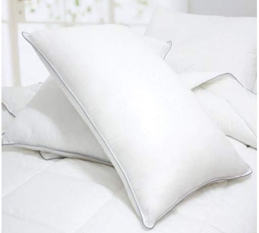 """Blancho Bedding - Blancho Bedding Down Alternative Pillows, Set of 2 - """"""""Standard size pillow measures 30 by 20 inches with hypo-allergenic breathable filling."""
