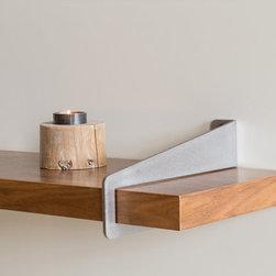 Wall-Stirrup Shelf Brackets -