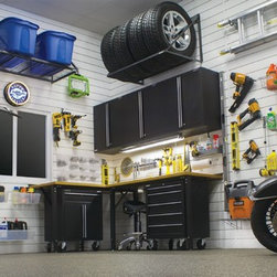 Garage Organizer - The best and easiest way to keep your garage clean and organized.