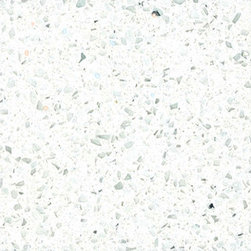 Sparkling White - Sparkling White Quartz is a stunning reflection of whites and icy speckles for kitchens, baths and other design features when you desire a touch of sparkle and elegance. Best uses for this durable quartz include residential and commercial property projects such as floors, countertops, landscaping and walls. It is not recommended for exterior use in areas with freezing temperatures.
