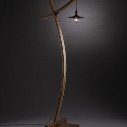 "Custom Furniture - Lighting and Accessories - ""Aglow"" floor lamp"