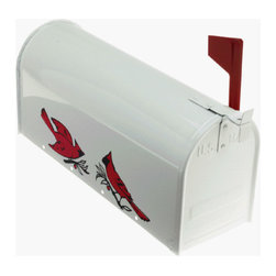 FULTON CORP - Cardinal Rural Mailbox - Fully assembled, with satin finish