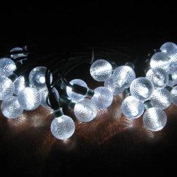 Smart Solar - Crystal Balls Solar Light String -