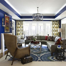New Ways to Decorate With Shades of Blue : Decorating : HGTV