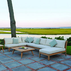 Outdoor Furniture - Ipanema sectional | Lawn & Leisure