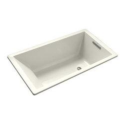 KOHLER - KOHLER K-1130-96 Underscore 5' Acrylic Bathtub - KOHLER K-1130-96 Underscore 5' Acrylic Bathtub in Biscuit