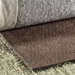 Home Decorators Collection - Premium All-Surface Rug Pad - Extend the life of your rug with the Premium All-Surface Rug Pad. Designed for use on all floor types, this pad will keep your area rug in place to help avoid accidents from slipping or tripping on moving rugs or turned up edges. Our premier underlay, this thick, high-density pad will give you luxury with a firm feel underfoot. Purchase yours today.Reversible for use on carpet.Easy to trim for the perfect fit.Adds extra cushion and helps prevent slippage.Guaranteed not to damage or discolor your floor.Scratch side faces up on hard floors and down on carpet.