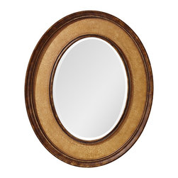 Murray Feiss - Murray Feiss Evelyn Transitional Oval Mirror X-CI5311RM - Murray Feiss Evelyn Transitional Oval Mirror X-CI5311RM
