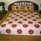 Cotton Bedspreads - You can use this cotton bedspreads to make over your bed.
