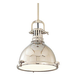 "Hudson Valley Lighting - Hudson Valley Lighting Pelham Transitional Pendant Light X-NP-2122 - Overall height measurement includes (1) 3"", (1) 6"", (1) 12"", (2) 18"" stems and hang straight canopy."
