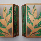 Aged Hawaiian Niu Sconces - Tropical - Wall Sconces - hawaii - by Paradise Lights