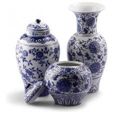 Asian Vases by C. Wonder