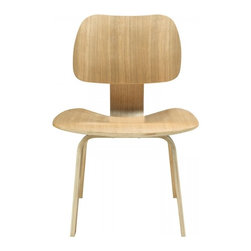 Modway Imports - Modway EEI-620-NAT Fathom Dining Side Chair In Natural - Modway EEI-620-NAT Fathom Dining Side Chair In Natural