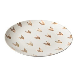 Nate Berkus Patterned Ceramic Tray - Simple and fun, this plate would be a great addition to some outdoor tableware for casual entertaining.
