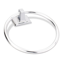 Hardware Resources - Elements Traditional Towel Ring.  Finish: Polished Chrome. - Elements Traditional Towel Ring.  Finish: Polished Chrome.  Packed in new Retail Box.