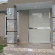 Contemporary Front Doors by Durabella Consulting Inc,