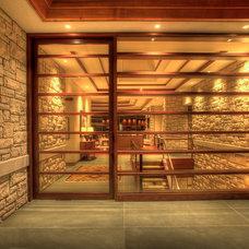 Contemporary Front Doors by Grabill Windows & Doors