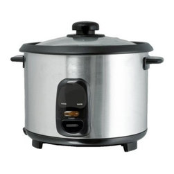 Brentwood TS-20 10 Cup Rice Cooker - Stainless Steel - About Brentwood Appliances, Inc.With a product line spanning from coffee makers and can openers to Dutch ovens, sauce pans, and more, Brentwood Appliances, Inc. proudly offers an excellent selection of small appliances and cookware. Committed to keeping customers satisfied, Brentwood Appliances focuses on providing best-quality, best-priced products and top-notch customer service.