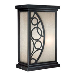 Vaxcel Lighting - Vaxcel Lighting PO-OWD080 Prosecco 1 Light Outdoor Wall Sconce - Features: