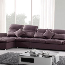 contemporary sectional sofas by EuroLux Furniture