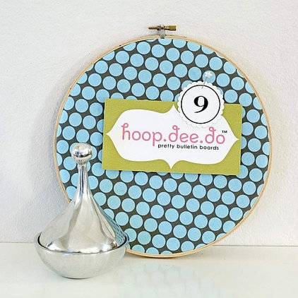 Embroidery Hoop Bulletin Board