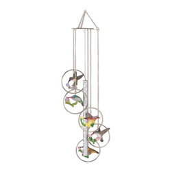 GSC - Wind Chime 5-Ring Polyresin Charm Hummingbird Hang Garden Decoration - This gorgeous Wind Chime 5-Ring Polyresin Charm Hummingbird Hang Garden Decoration has the finest details and highest quality you will find anywhere! Wind Chime 5-Ring Polyresin Charm Hummingbird Hang Garden Decoration is truly remarkable.