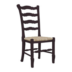 EuroLux Home - New Chair Walnut Painted Hardwood Ladder - Product Details