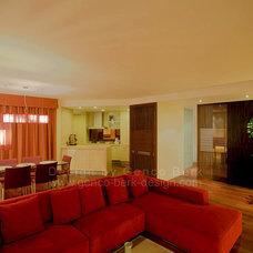 Asian Living Room by Genco Berk Design