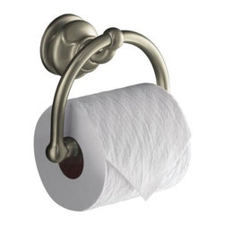 KOHLER - KOHLER K-12157-BN Fairfax Toilet Tissue Holder - KOHLER K-12157-BN Fairfax Toilet Tissue Holder in Vibrant Brushed Nickel