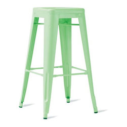 Tolix Marais Barstool   Design Within Reach - These classic stools from Tolix in France look fresh in mint green. Of course, if you work at a desk for long periods of time, you will want a chair, but stools are perfect for the kind of crafting where you are up and down a lot. And they happen to be on sale right now at Design Within Reach — bonus!