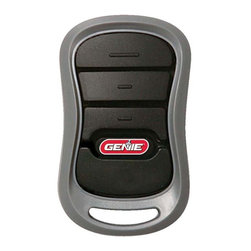 Genie - Genie 3 Button Transmitter Multicolor - 37330R - Shop for Garage Doors Openers and Accessories from Hayneedle.com! The Genie 3 Button Transmitter is a compact option that works with nearly every Genie-brand garage door opener. This remote features a visor clip and comes with simple programming instructions. Auto-seek dual frequency technology (315/390MHz) means you'll never have to worry about interference inhibiting performance. The unit features Intellicode rolling-code encryption that changes the access-code after each use preventing unauthorized access. A CR2032 lithium battery is included.About Genie Company Your wish is the Genie Company's command. Each of their products is constructed with a focus on superior design reliability and safety that's so satisfactory you'd swear it's magic. For over 50 years Genie has provided America with automatic residential garage openers quickly becoming an industry leader. In addition to their garage hardware Genie also offers a number of products for the home including vacuums. For homeowners and commercial users alike Genie has a wide array of products that's perfect for you.