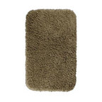 """Garland Rug - Bath Mat: Accent Rug: Serendipity Taupe 24"""" x 40"""" Bathroom - Shop for Flooring at The Home Depot. This heavyweight shag bath rug will fit easily into any bathroom decor. Serendipity is made with 100% Nylon for superior softness and colorfastness. And is proudly made in the USA.."""