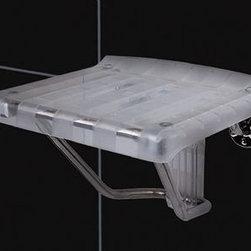 DreamLine - DreamLine Plastic Folding Shower Seat - SHST-01-PL - Plastic Folding Shower Seat