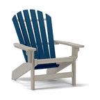 Siesta Poly Furniture Customized Windsor Adirondack Chair - Siesta furniture is constructed using 100% recycled maintenance free plastic, ensuring generations of beauty and style. The dimensional plastic lumber made of HDPE (high density polyethylene) is a dense material formulated from recycled milk jugs and cartons. Because of its dense nature it is heavier than wood. UV protection is mixed in. HDPE should not be confused with resin and other plastics that oxidize and become brittle over time. Nothing sticks to or stains HDPE, including red wine. If necessary it can be cleaned with any household cleanser, and will even withstand bleach.