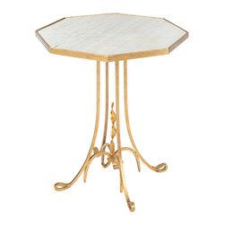 Aidan Gray - Aidan Gray Lund Side Table in Gold Set of 2 F400 - Aidan Gray Lund Side Table in Gold Set of 2 F400.