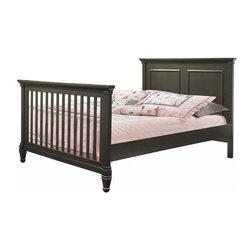 Natart - Natart   Belmont Double Bed - Made in Canada by Natart. The Belmont Double Bed is a truly customizable experience, versatile enough for a girl or boy of any age. Statuesque and sturdy in appearance, this bed features grooved posts and ornate feet indicative of Natart's Italian heritage. The Belmont Double Bed also comes with the option of an Upholstered Panel for added luxury or a low profile footboard for a less commanding presence. Product Features:  Meets all USA and Canadian Safety standards GREENGUARD GOLD Certified to be low in VOCs for a safe and healthy nursery Available in several finish options Can be enhanced with optional upholstered panel Made from solid beechwood Surface treated with high-resistance finish
