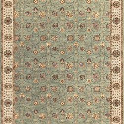 Loloi - Loloi Stanley Steel-Beige Area Rug - The magnificent Stanley Collection features modern interpretations of the most sophisticated hand knotted designs. Recreated in Egypt with power loomed technology these gorgeous polypropylene area rugs offer an affordable alternative.