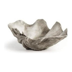 Scallop Shell Pot - Large - Scallop Shell Pot - Large